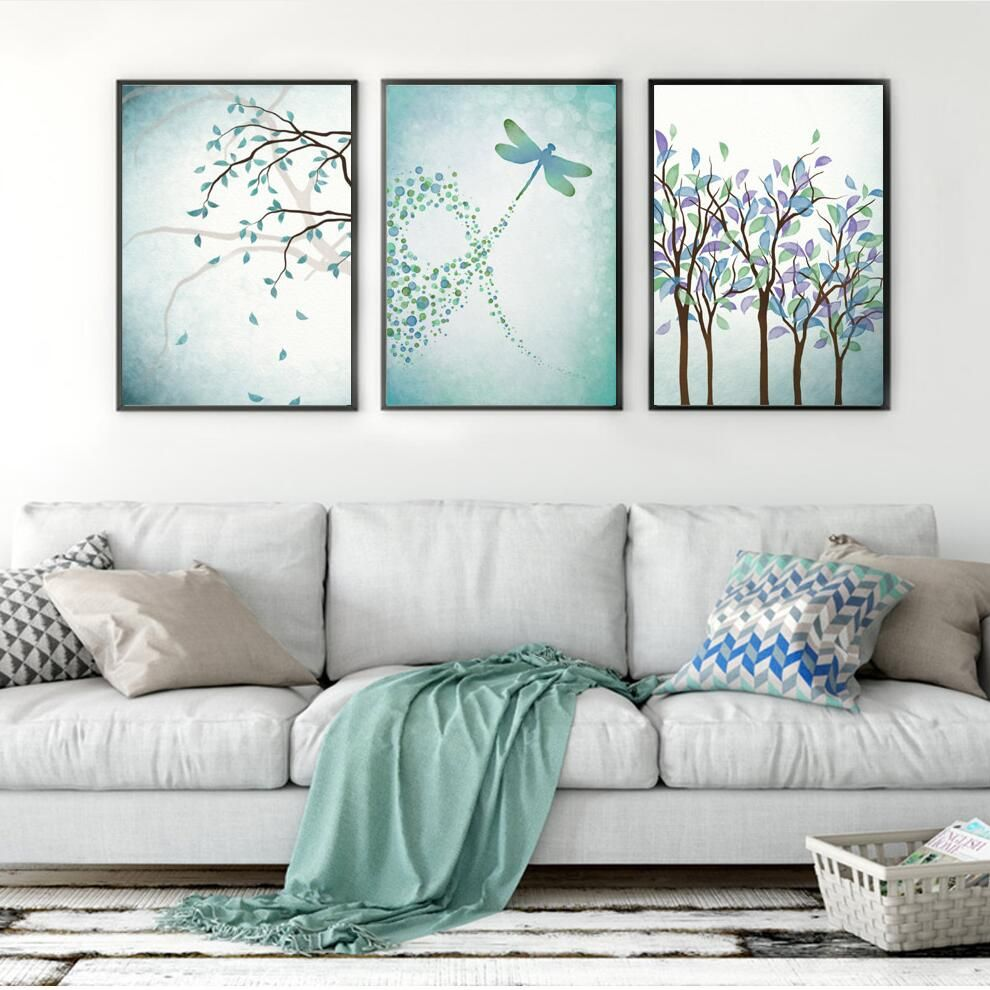 Brand-new arrival Nordic Posters And Prints Plant Wall Art Canvas ...