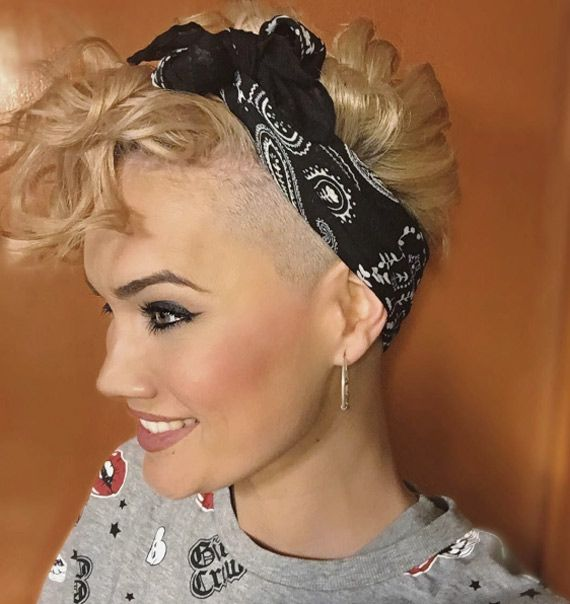 Pin On Hairstyles With Hairbands Funky