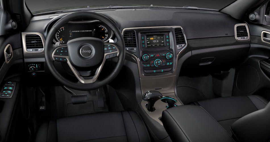 2014 Jeep Grand Cherokee Interior Leather Seats & 6