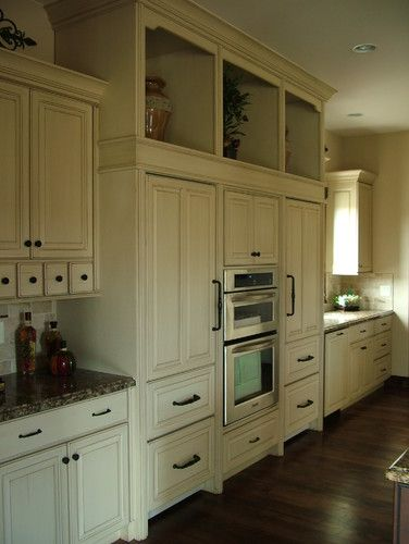 Kitchen Photos Antiqued White Cabinets Design Pictures Remodel Decor And Ideas Page 9