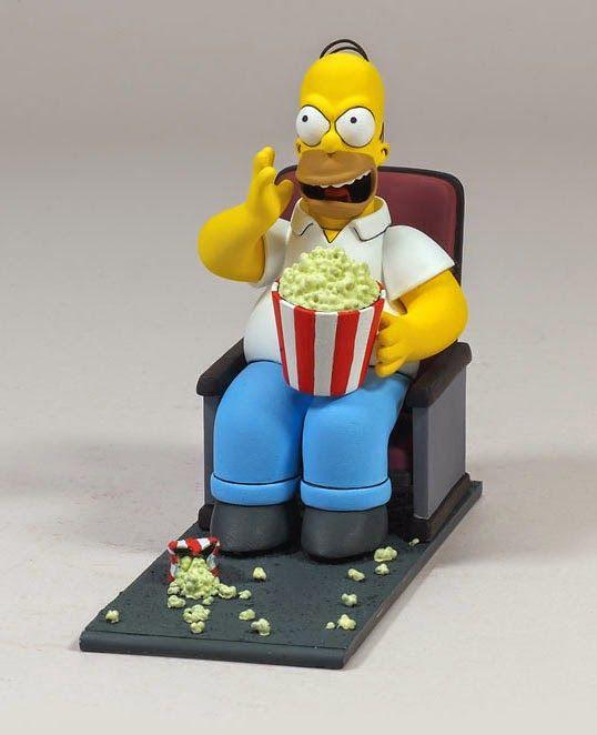 Figura Homer Simpson Butaca De Cine Merchandising Peliculas The Simpsons Movie Homer Simpson The Simpsons
