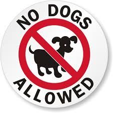 Image Result For No Dogs Allowed Signs Printable Printable Signs Dog Signs True Quotes