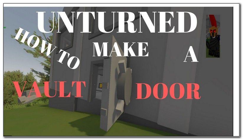 Unturned Garage Door Id Metal Door Double Doors Vault Doors