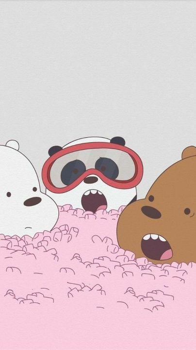 Wallpaper, Feeds & Lockscreen - ──ꪶཷ୭ we bare bears wallpaper