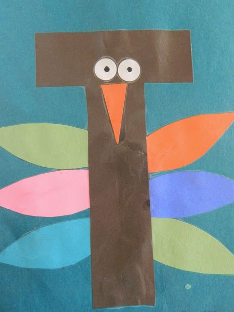 preschool letter t