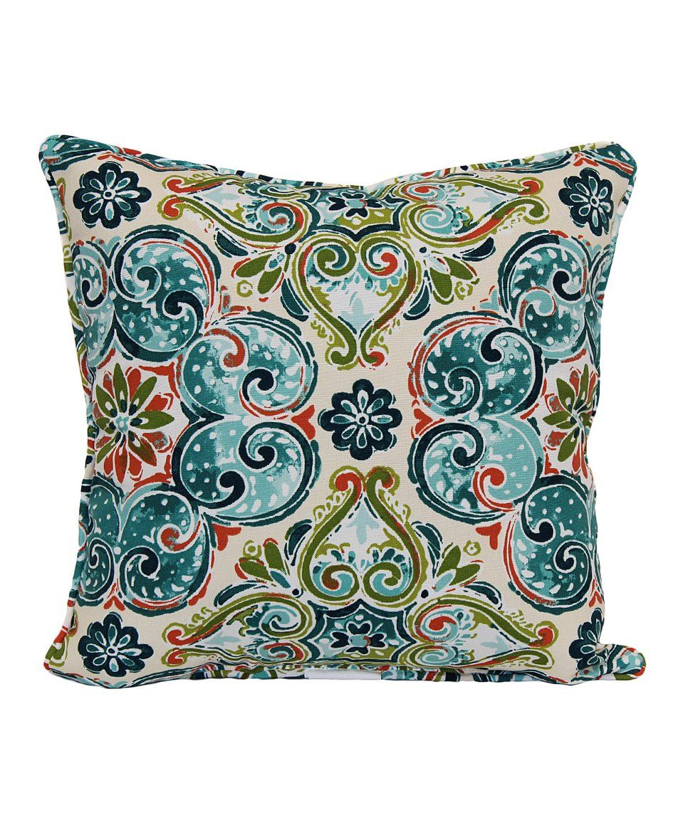 Take A Look At This Monaco Spice Square Indoor Outdoor Throw Pillow Today Square Throw Pillow Throw Pillows Pillows