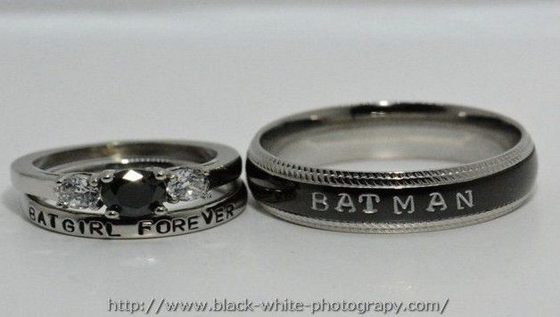 Batman Wedding Ring With Diamond Ideas Picture Batman Wedding Rings Moonstone Engagement Ring Set Batman Wedding
