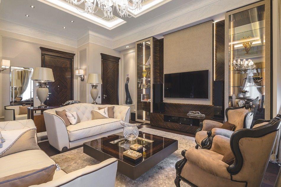 Ideas Modern Home Design  Living Rooms  Pinterest  Classic Simple Classic Living Room Interior Design Ideas 2018