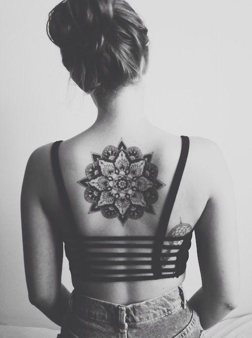 Sexy back tattoos female