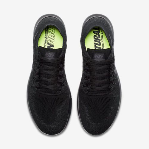 buy popular 0b197 a9d4c Nike Free RN Flyknit 2017 Black Anthracite 880843-010 Men s Running Shoes  NEW! Flyknit Black Nike