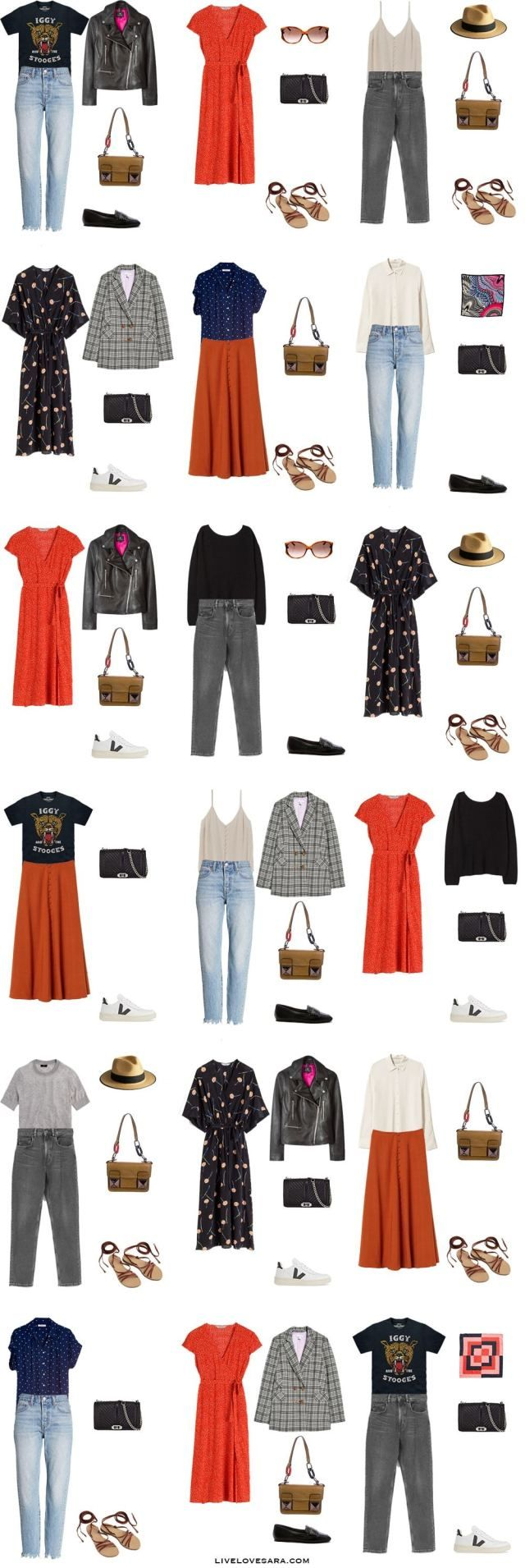 What to Pack for Paris, France - Packing Light #travelwardrobesummer