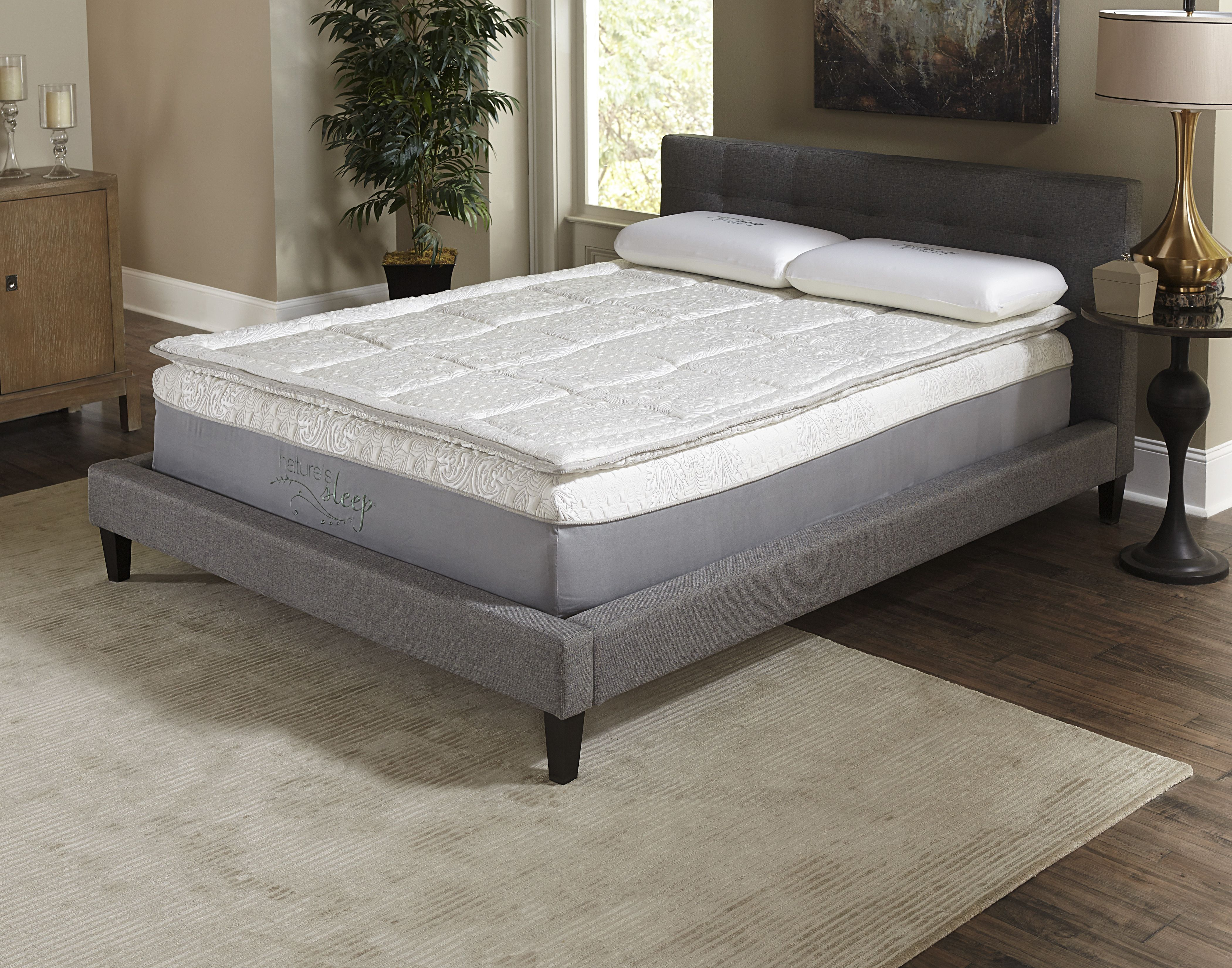12inch Gel Infused Pillow Top Memory Foam Mattress