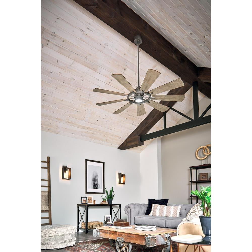 "65"" Kichler Lighting Gentry Ceiling fan, Home decor, Ceiling"