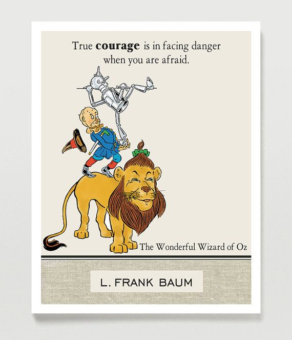 Quote Wizard Fair Wizard Of Oz Quote Inspirational Quote Lion Tin Manquotology . Design Ideas