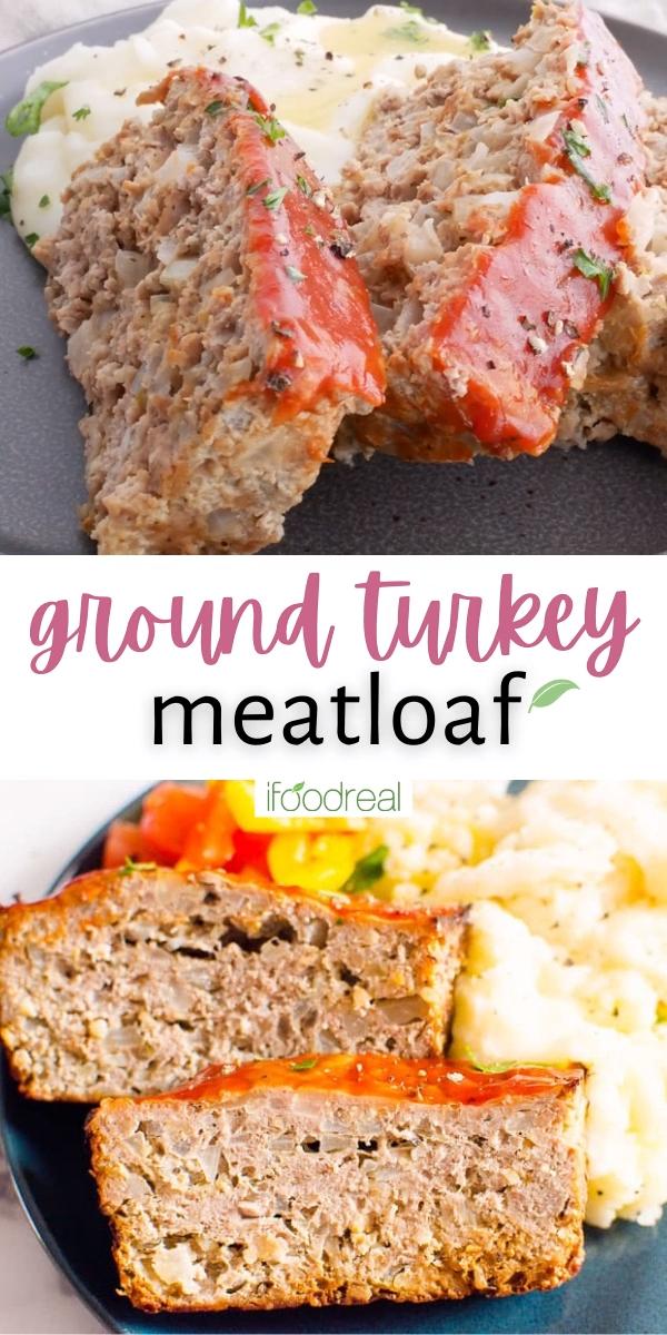 Easy Turkey Meatloaf Recipe Video In 2021 Turkey Meatloaf Recipes Turkey Meatloaf Easy Turkey Meatloaf