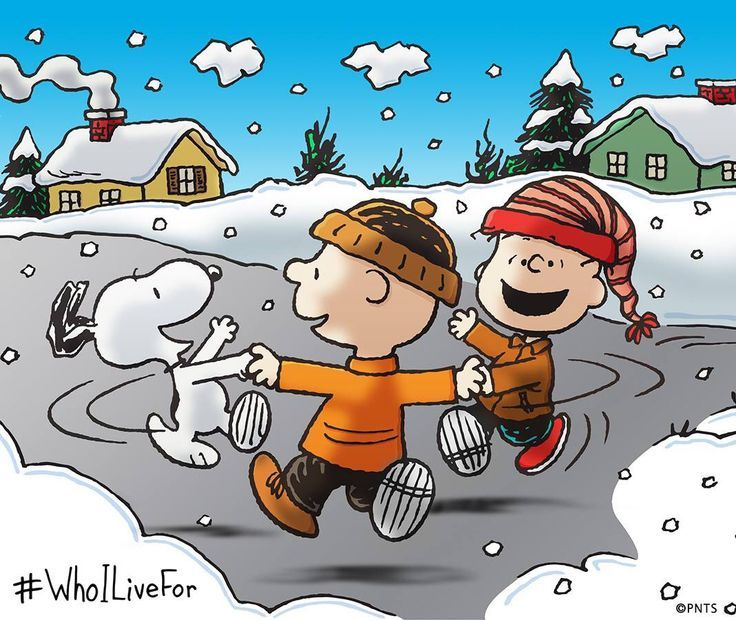 Run in the snow Charlie Brown!   Snoopy Navidad   Pinterest   Snoopy ...