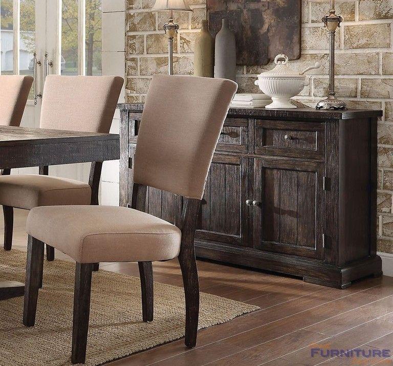 Acme Furniture Eliana Server Salvage Brown 71713