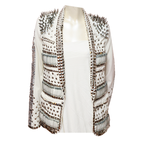 Are you kidding me?.... Gold Dot Couture - Stud Jacket