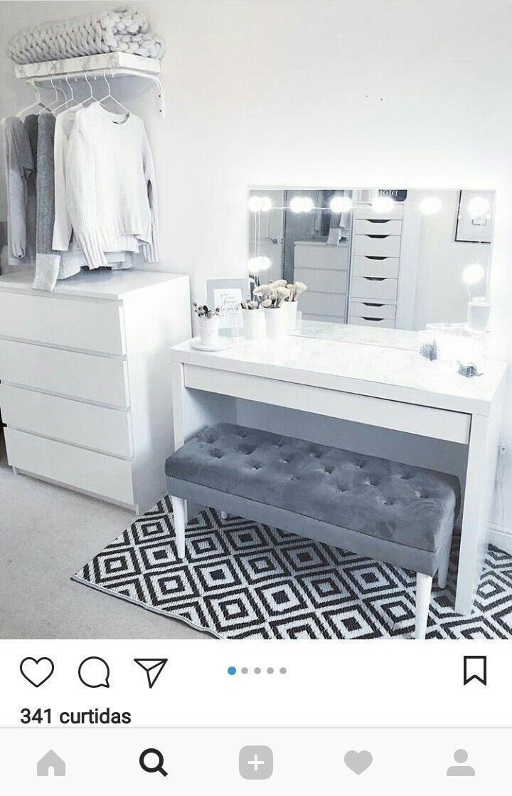Cloffice Makeover Reveal - Money Can Buy Lipstick #homedecorideas #home decor ideas #home decor ideas apartment #home decor ideas bedroom #home decor ideas diy #home decor ideas for cheap #home decor ideas living room #home decor ideas living room apartment #home decor ideas living room on a budget