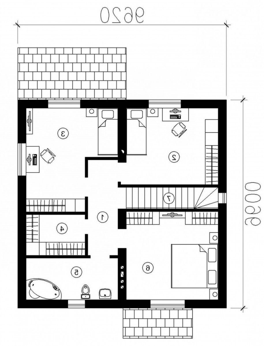 Single bedroom top view - Making House Plans With Real Pictures Will Ease Your Work Amazing House Plan With Real