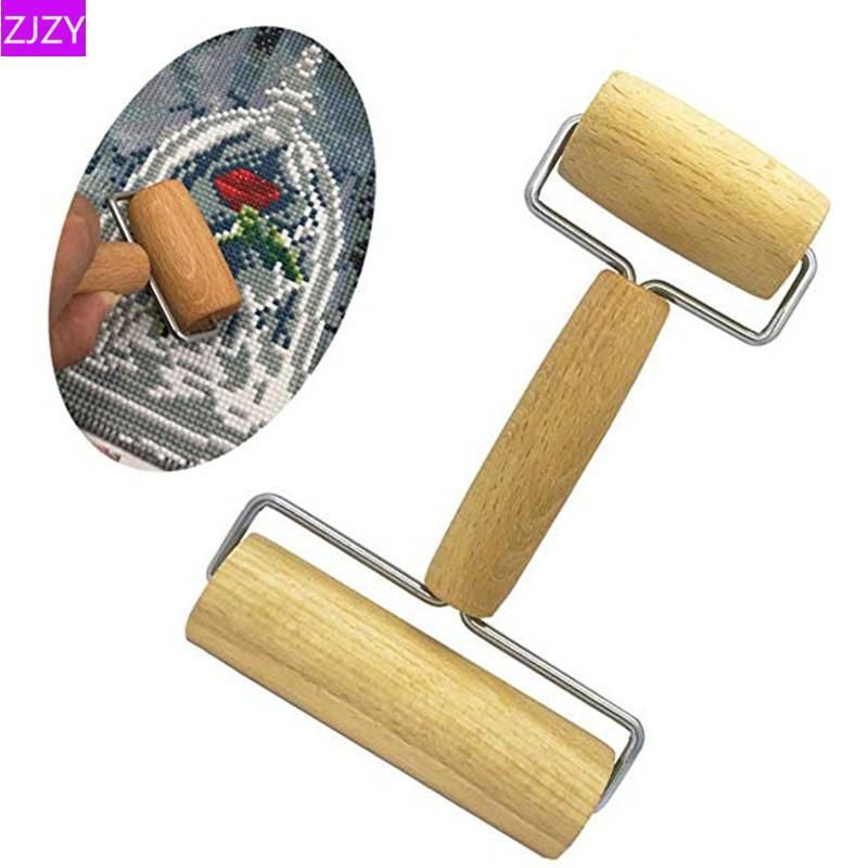 5d diamond painting tool wooden roller diy diamond painting accessories CL
