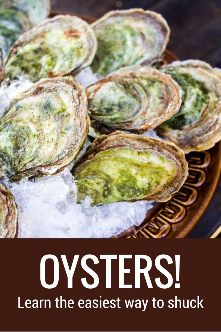 how to shuck oysters with a screwdriver