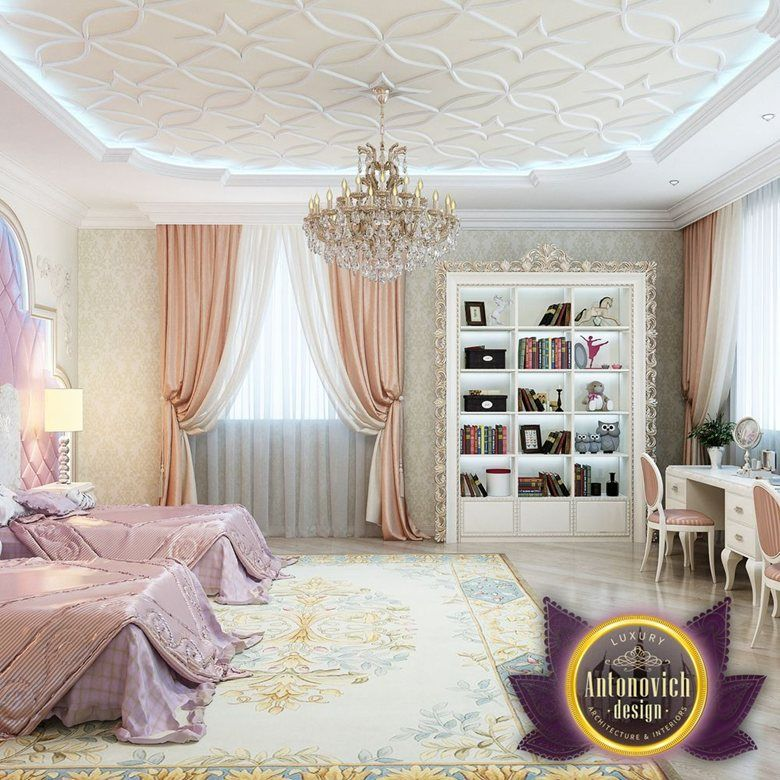 Kids room interior design by luxury antonovich design katrina antonovich