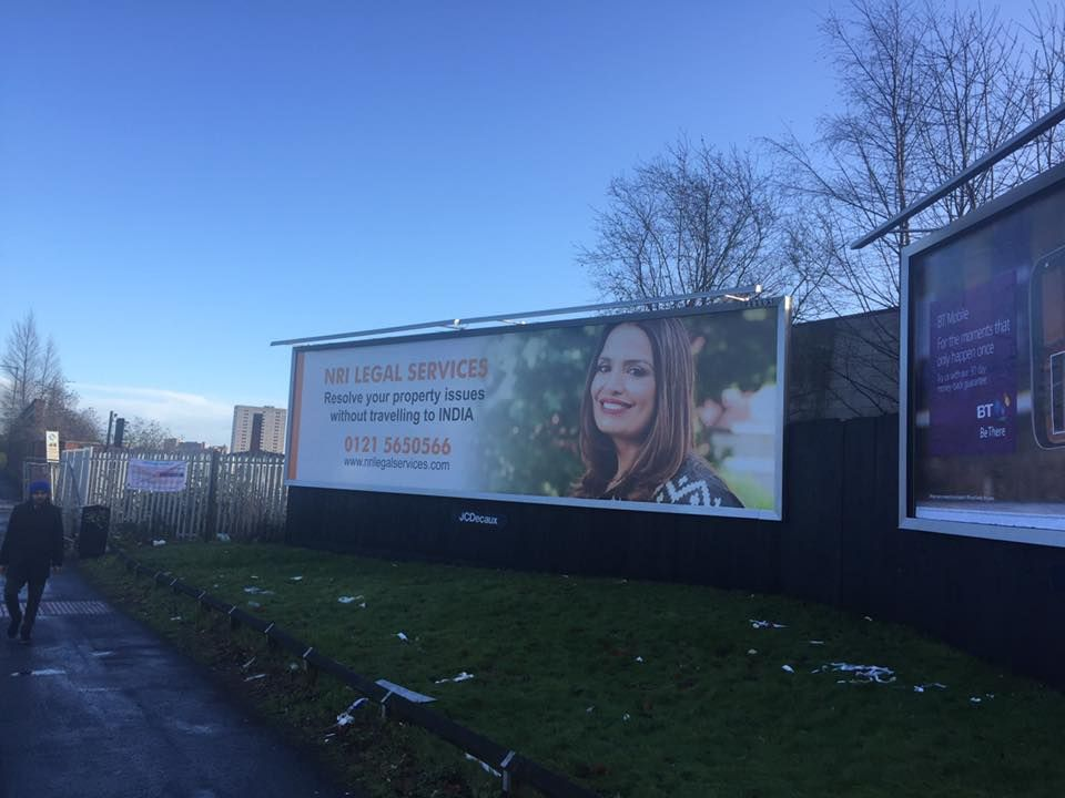 New Campaign. Check out our new billboard campaign in