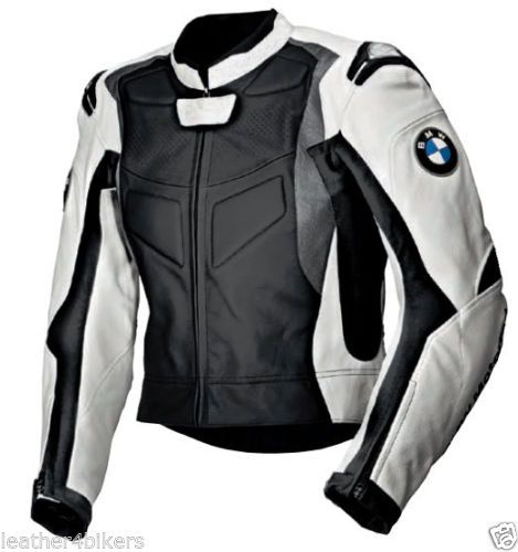 bmw herren leder biker jacke rennen motorrad lederjacke motorrad leder jacke motorbike leather. Black Bedroom Furniture Sets. Home Design Ideas
