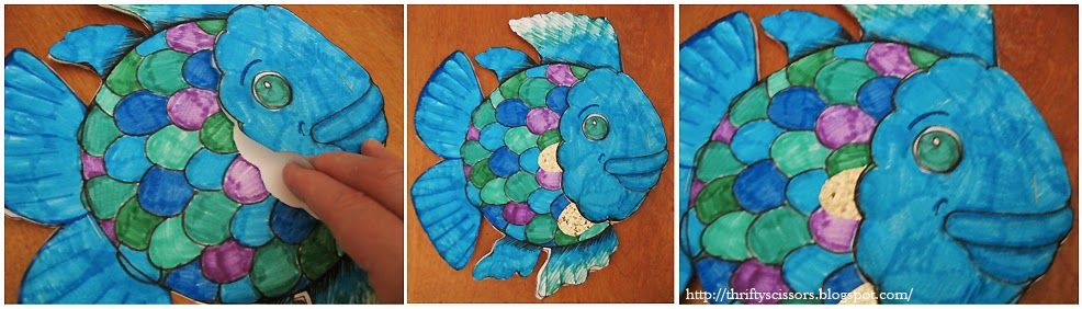 Thrifty Scissors Craft An Entire School Of Rainbow Fish From