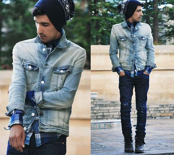 denim jacket men - thinking of coming back with a denim style for ...