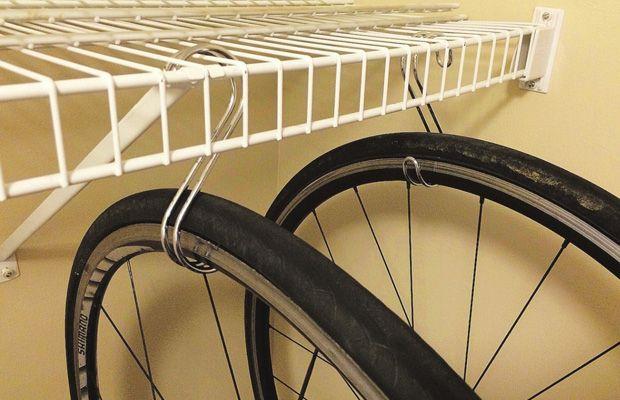 Where The Rubber Meets The Home Bike Storage Balcony Bike