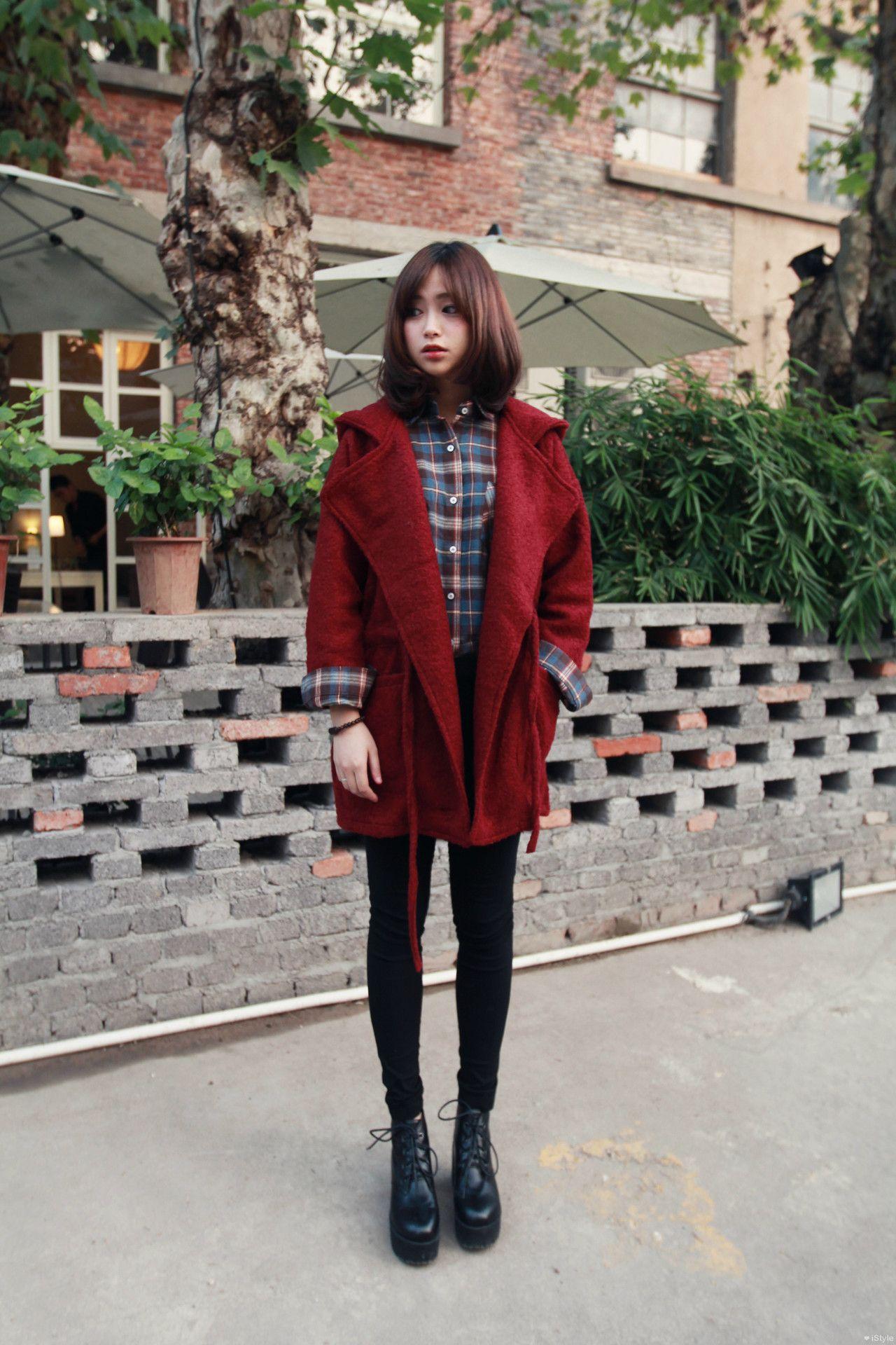 Pastel Cute Korean Winter Outfits