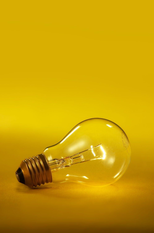 Wall Colour Inspiration: Yellow, Light Bulb, Inspiration, Photography, Light