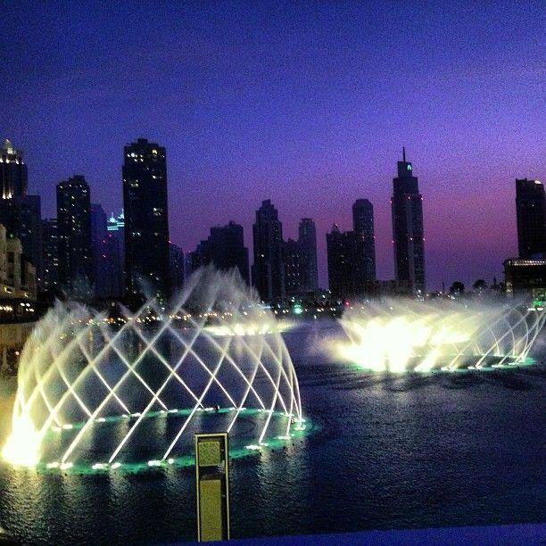Water Show Khalifa Dubai Dubai Mall Dubai