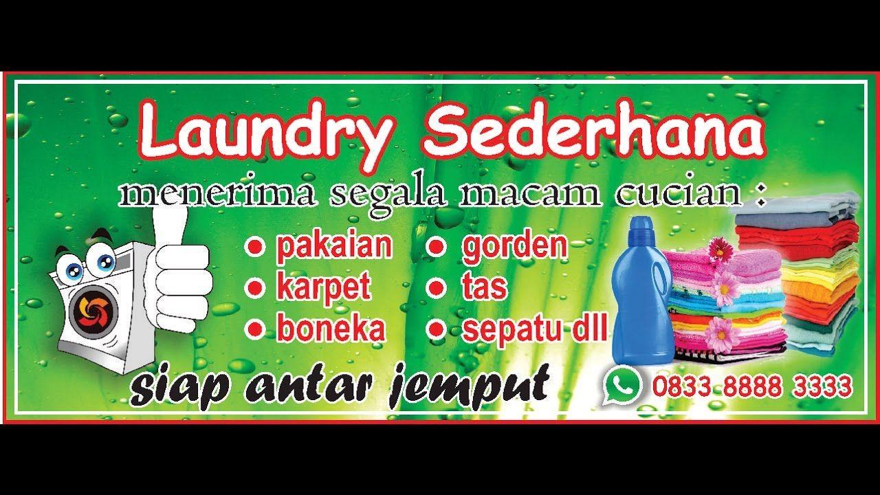 40+ Koleski Terbaik Contoh Brosur Laundry Cdr - Jeromesitaly