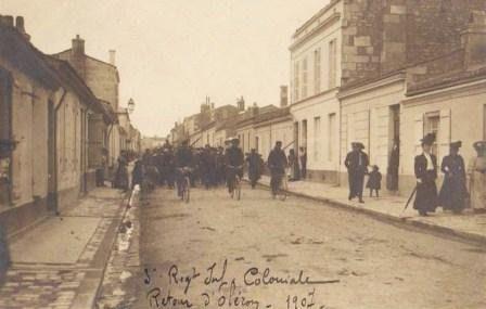 Retour d'Oléron 1907