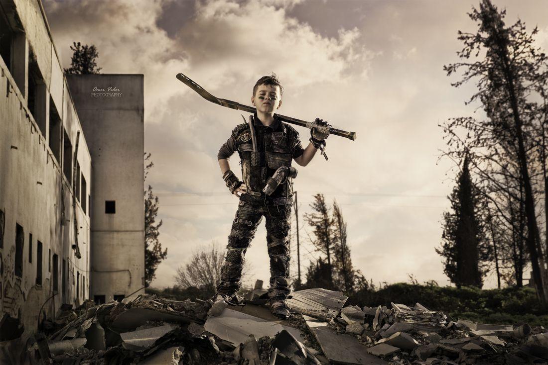 Apocalypse Zombie Hunter Boys Costume