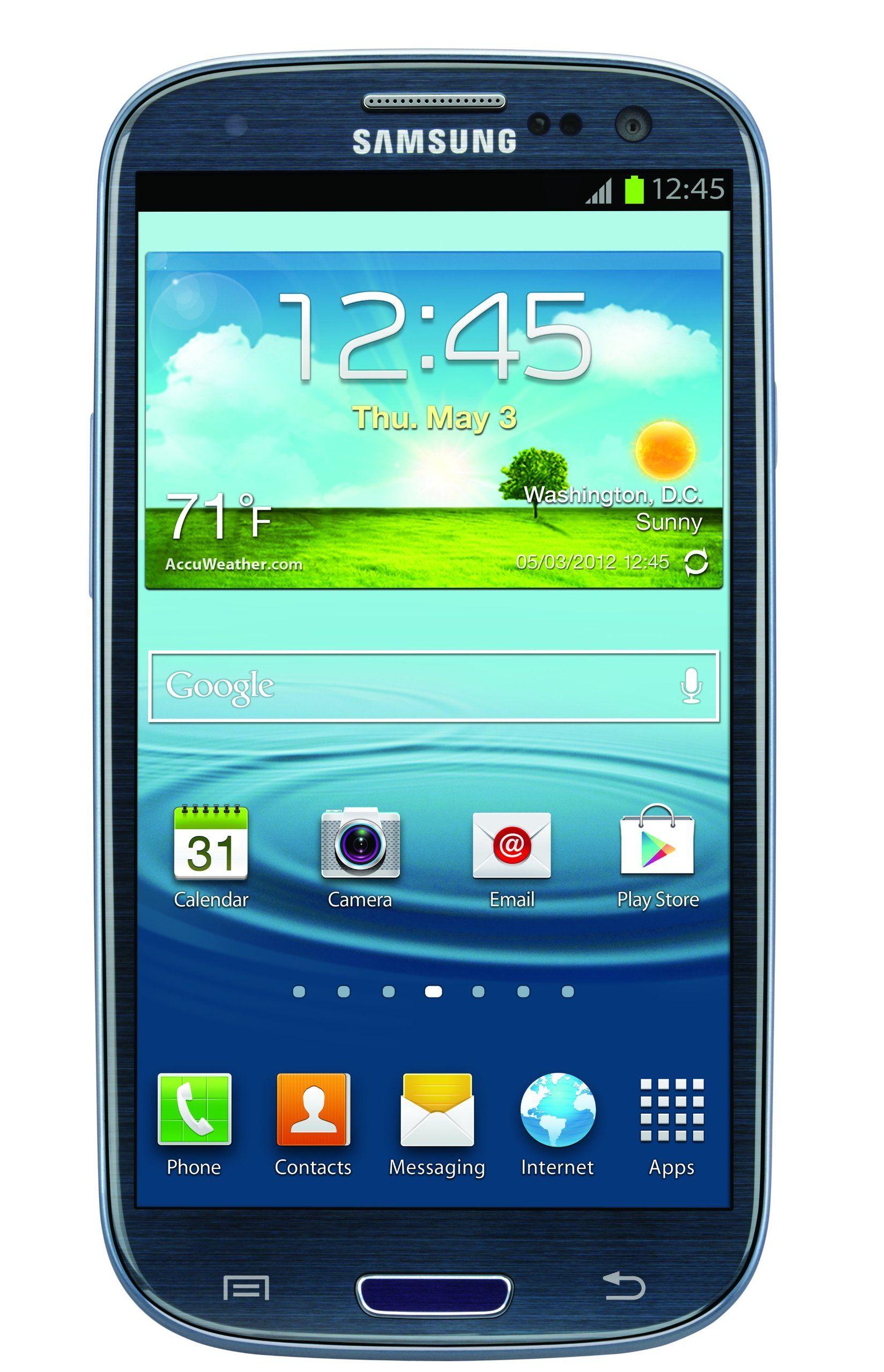 Samsung Galaxy S3, Blue 16GB (AT&T) Samsung galaxy s3