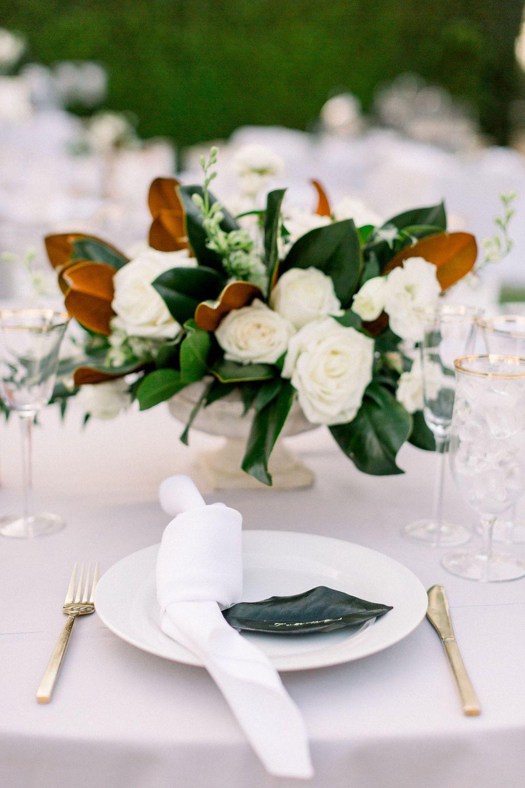A Romantic Fall Wedding At Maravilla Gardens Feathered Arrow Wedding Planning Wedding Floral Centerpieces Wedding Flower Arrangements Autumn Wedding Reception