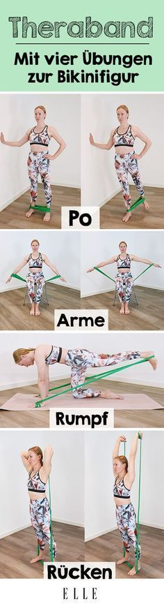 These Theraband exercises will completely change your body-Those who rely on strength training to st...