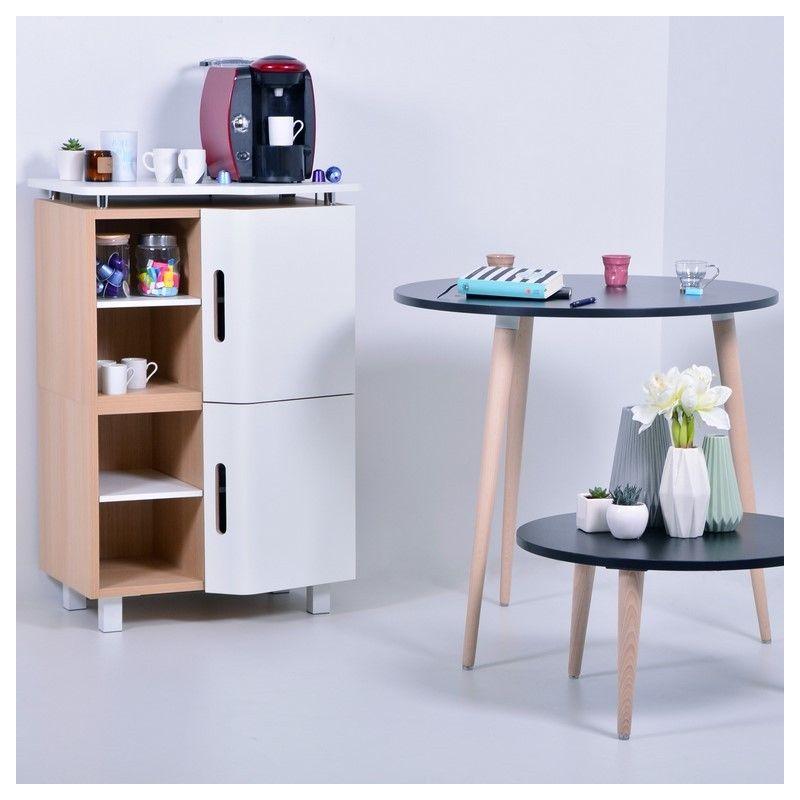 meuble design scandinave pour bureau et machine caf de salle de pause - Bureau Design Scandinave