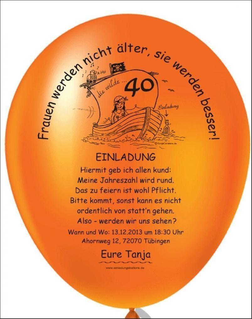 Pin Von Vanessa Ternes Auf Einladung 40 In 2020 Einladung 40