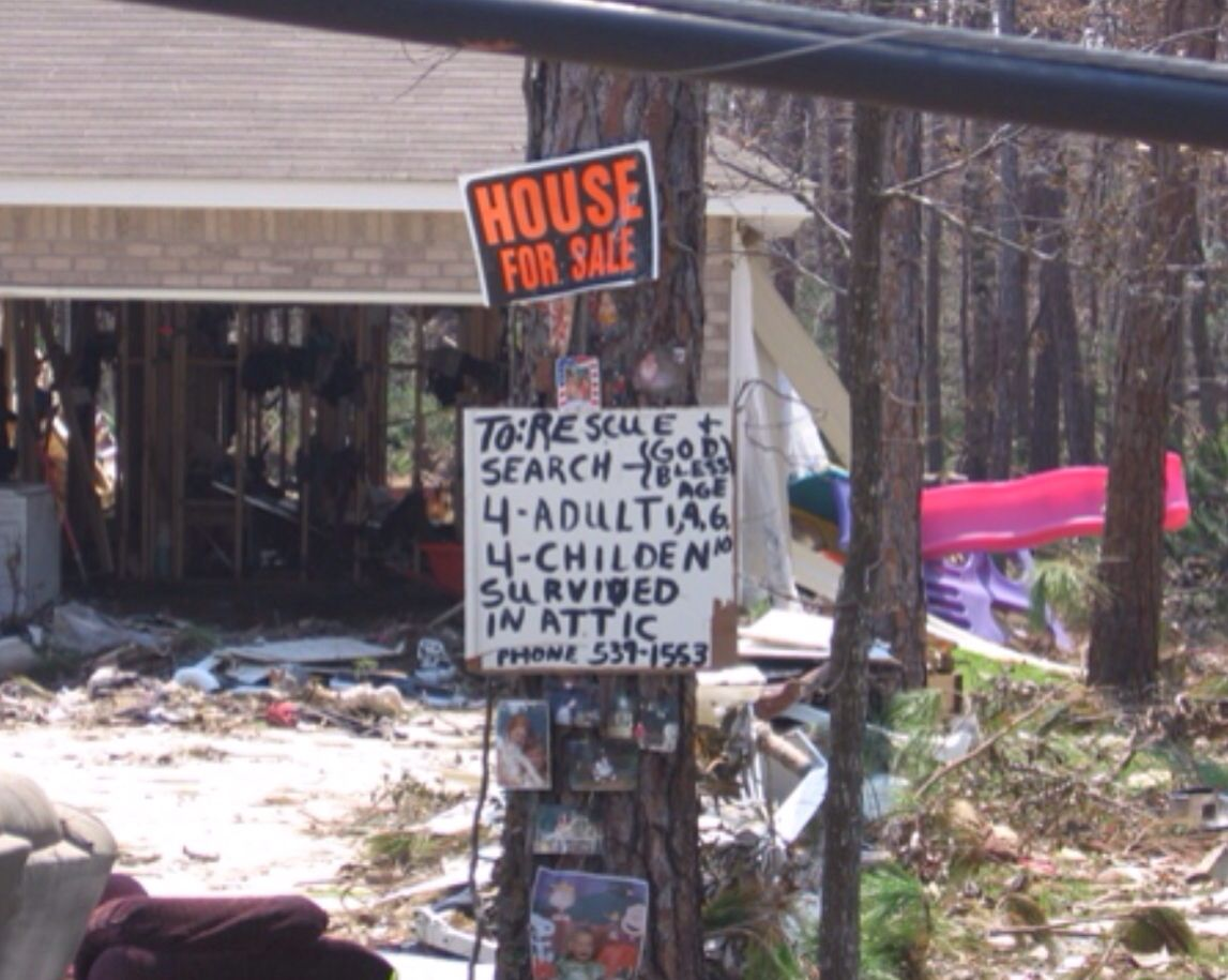 Story of survival, Diamondhead, MS.... After Hurricane Katrina ...