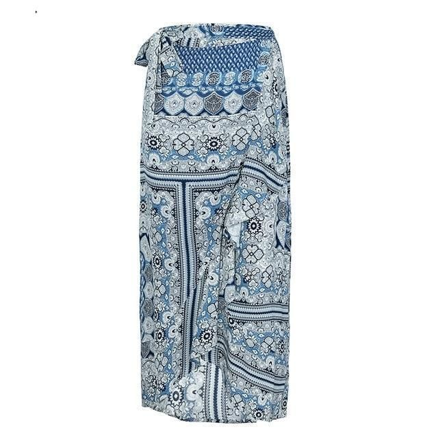34569529c1 Buy Women's Floral Ruffle Wrap Maxi Skirt and other Skirts at Narvay.com.  Women Cotton Skirt Tiered Ruffle Skirt Long Skirt Maxi Wrap Skirt Gypsy  Skirt Tie ...