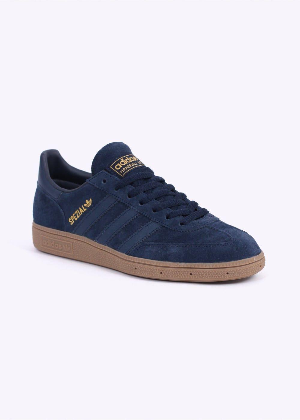 more photos 52bea c99a6 Adidas Originals Footwear Spezial Trainers - Collegiate Navy  Gum