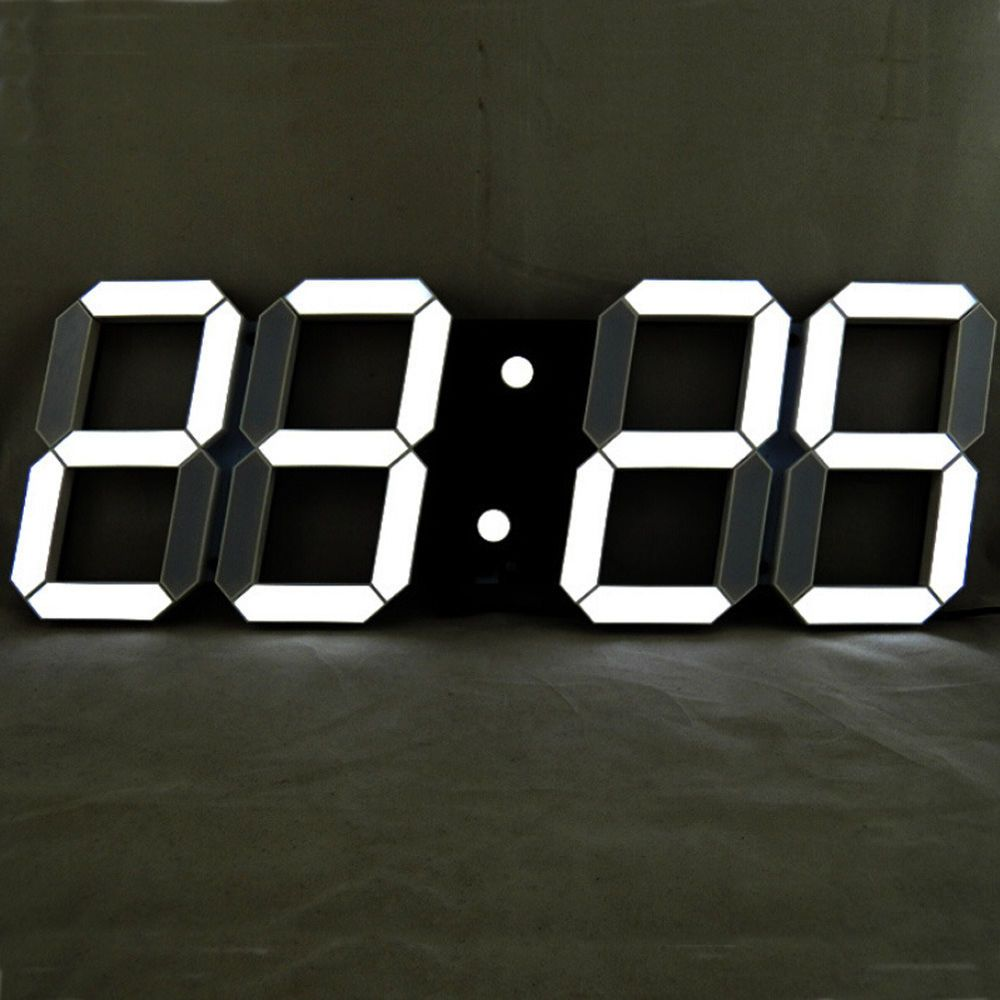 Modern 18inch remote control oversize led digital wall clock large modern 18inch remote control oversize led digital wall clock large alarm clock in home garden amipublicfo Choice Image