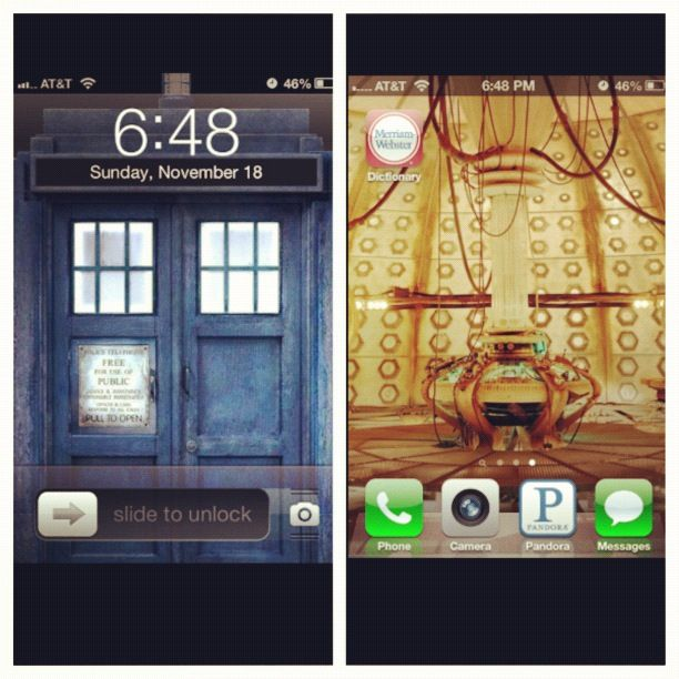 Tardis Wallpaper Iphone: MOST GENIUS IDEA EVER!! Doctor Who