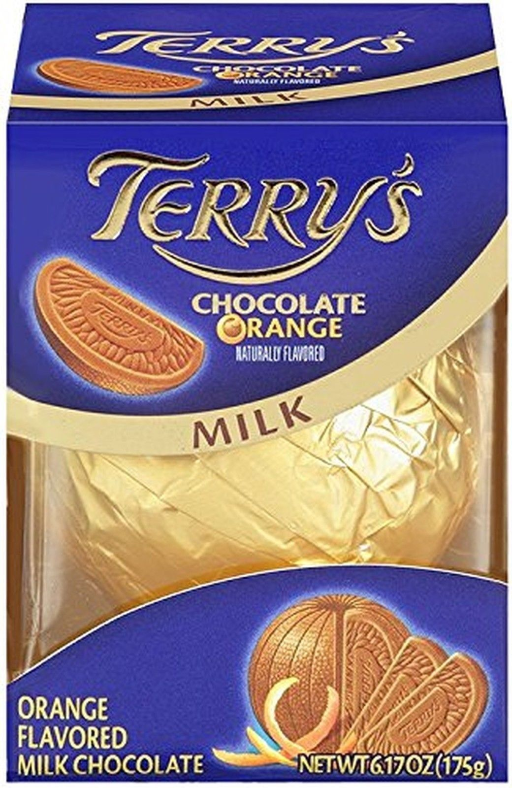 Terry'S Milk Chocolate Orange Ball 6.17-Ounce Boxes (Packaging May ...