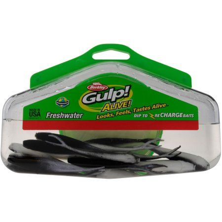 Berkley Gulp! Alive! Minnow, Black | Products | Berkley gulp